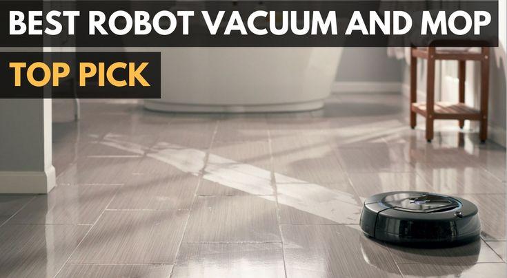 Robot Floor Cleaner Vacuum