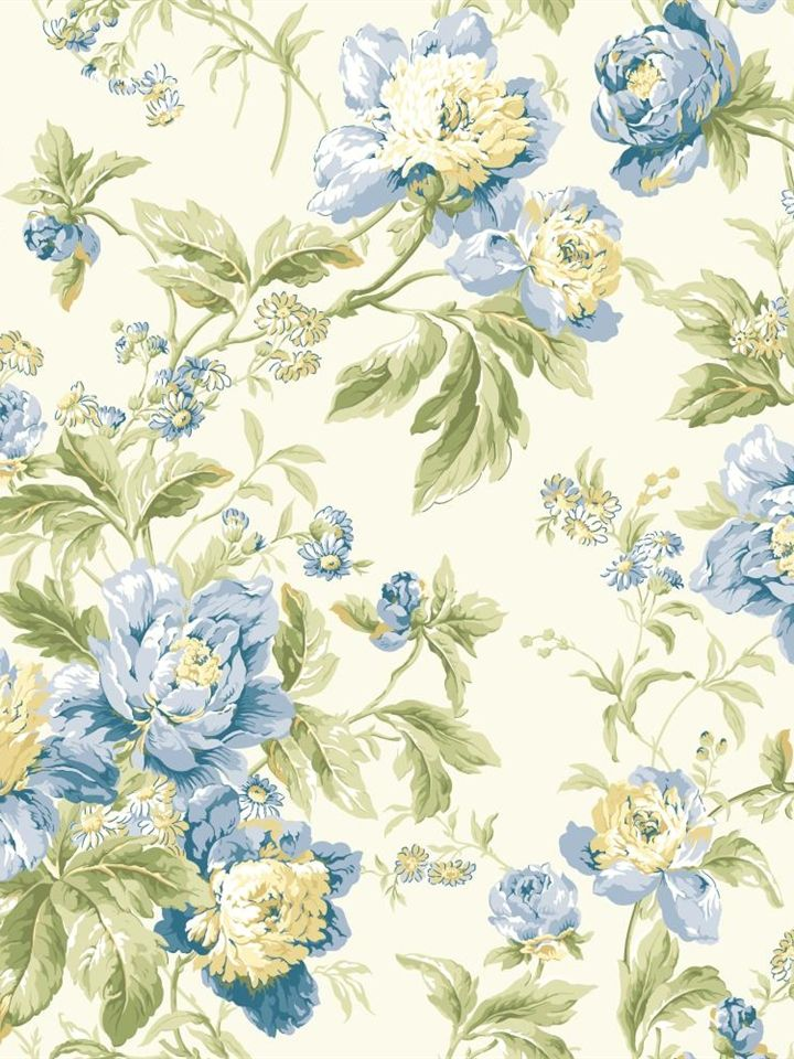 Wa7803 wallpaper waverly classics for Waverly wallpaper
