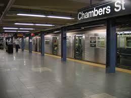 Subway platform New York