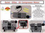 Quiet - Oilless (Oil less)- Air Compressor Motor