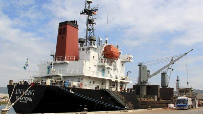 Philippines has  seized a North Korean ship