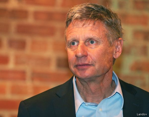 Former New Mexico Governor Gary Johnson Named CEO of Pot Firm