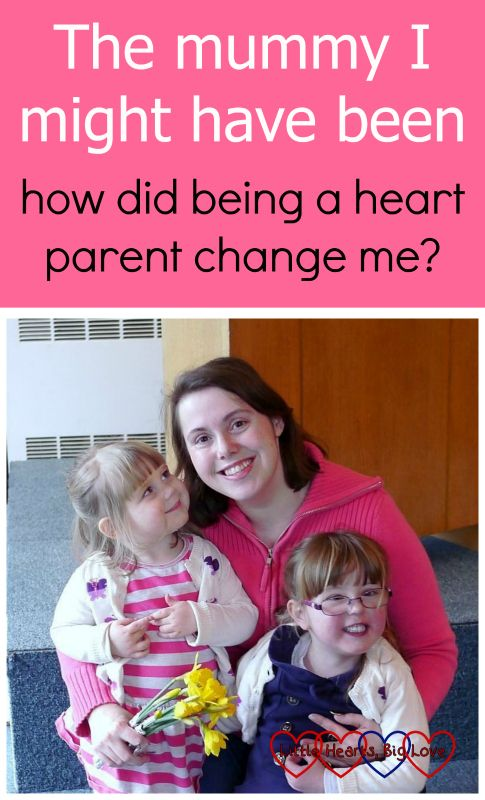 """Me with Jessica and Sophie. """"The mummy I might have been - how did being a heart parent change me?"""""""