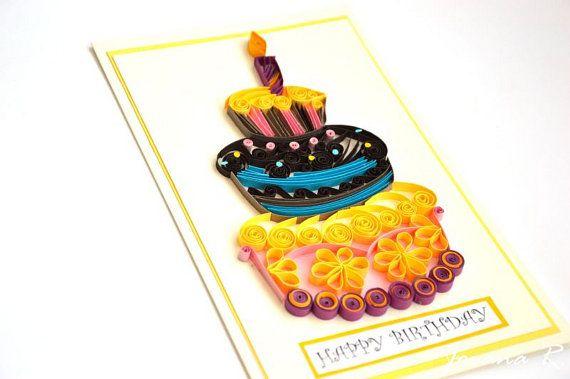 Открытка дедушке на день рождения квиллинг, открытка марта урок