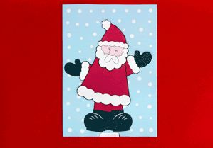 Santa Animated Christmas Card, plus others!
