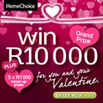 Make this an unforgettable #Valentine's Day with #R10000 @HomeChoice