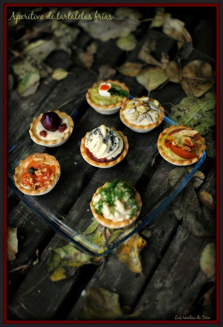 Aperitivos de tartaletas frías! http://www.tererecetas.com/2014/12/aperitivo-de-tartaletas-frias.html