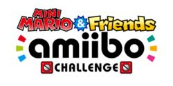 Mini Mario and Friends amiibo Challenge Logo.png
