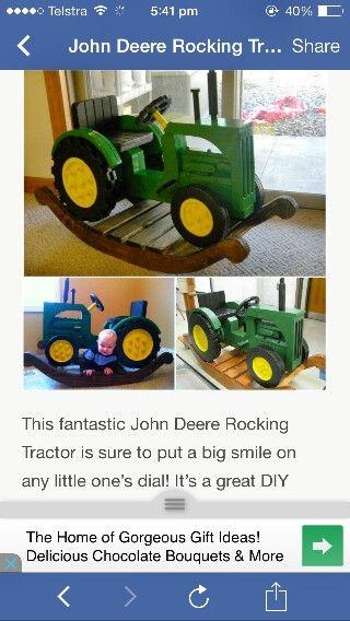 John deere rocker