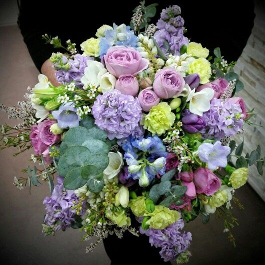 Purple and lavender tones