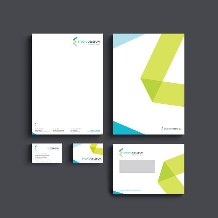 Studio de Leeuw // Logo, visitekaartje en briefpapier ontwerp (Huisstijl/Stationery/Self branding) By Ester de Leeuw (Studio de Leeuw)