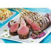 Fiche recette SAQ.com pour Carré d'agneau grillé