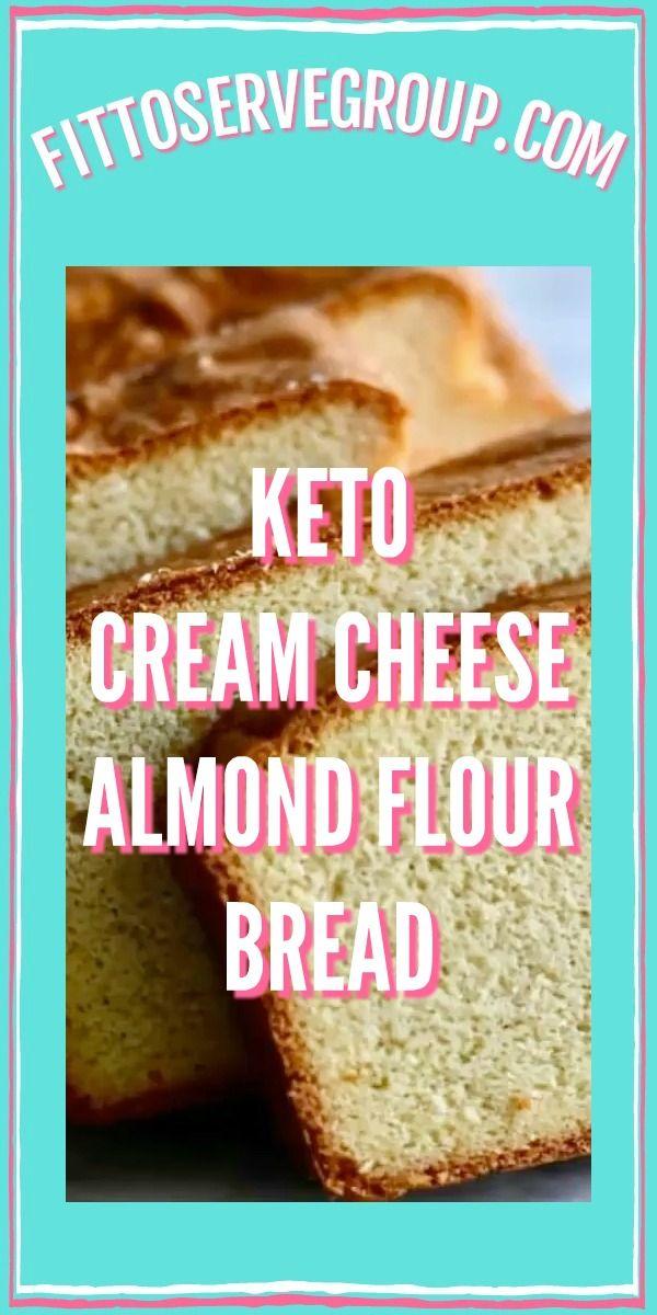 Keto Cream Cheese Almond Flour Bread Video Best Keto Bread Almond Flour Bread Almond Bread Recipe