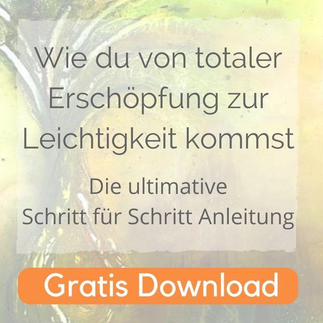 E-Book Von totaler Erschöpfung zur Leichtigkeit