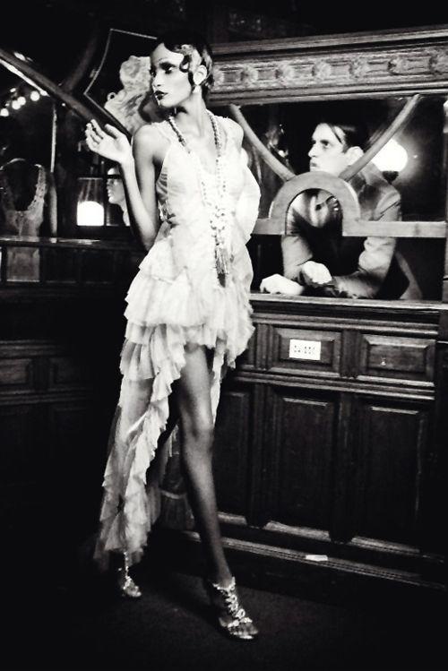 """""""The Golden Twenties"""" - inspiration images, fashion photography, ellen von unwerth, 1920's fashion"""