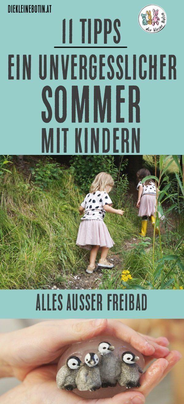 11 Tipps für einen tollen Sommer mit Kleinkind