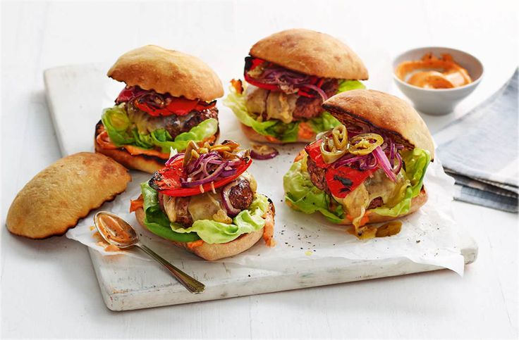 Dee's son's absolute favourite, paprika burgers, are a real must for A level results day. Find burger recipes & more Food Love Stories at Tesco Real Food.