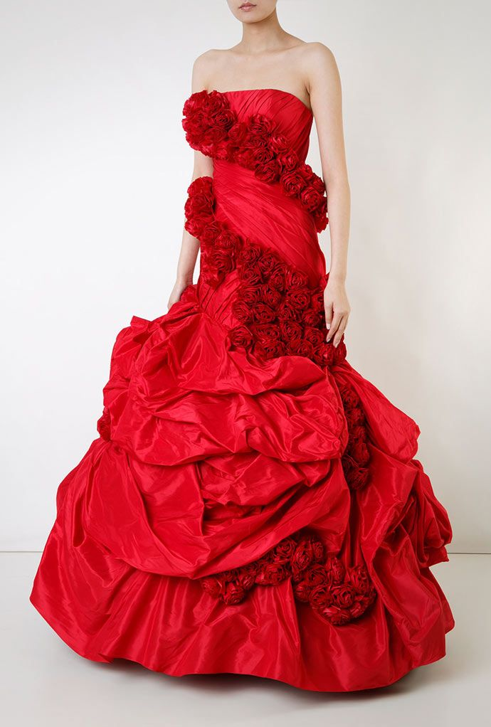 Rubin Singer rose dress
