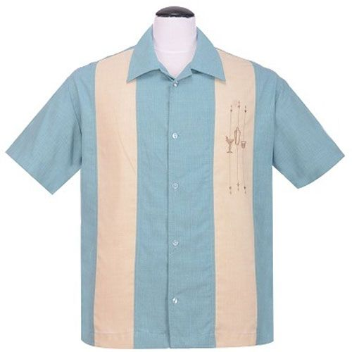 Shake down bowling shirt