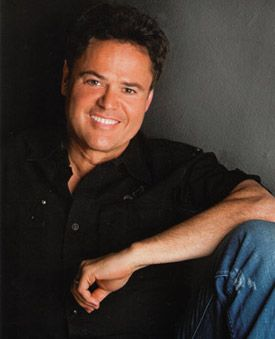 Donny Osmond...and now...he has held up really well & sings even better than when he was a teen idol!