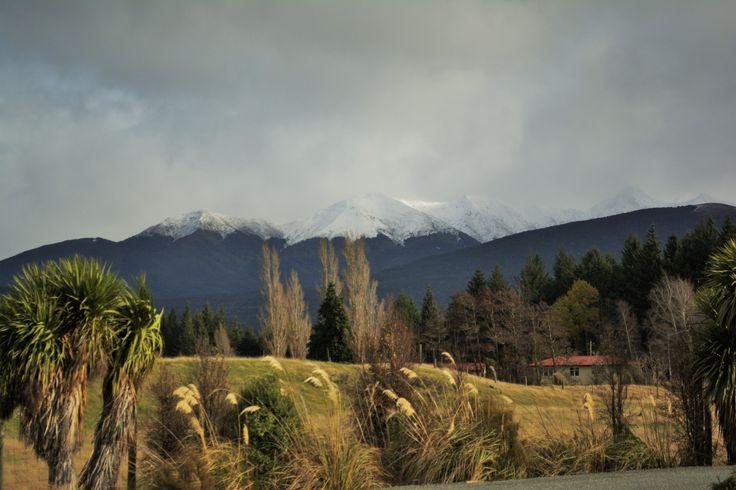 Landscape near Te Anau