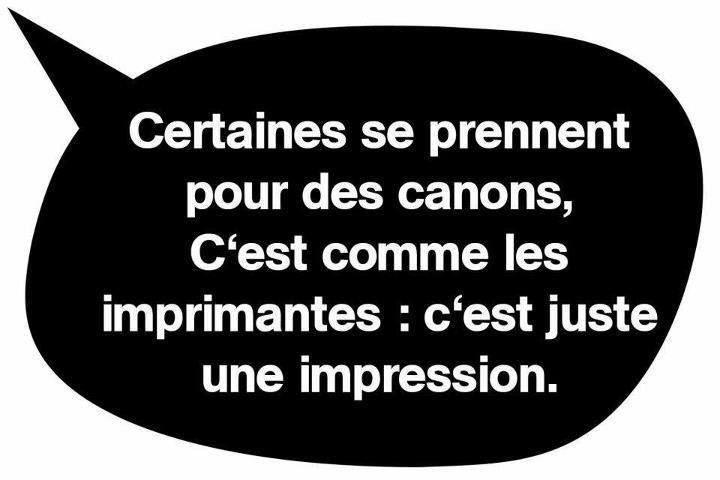 ...C'est la vérité qui blesse ! ^-^. #drôle de #citation. // www.drolementvotre.com