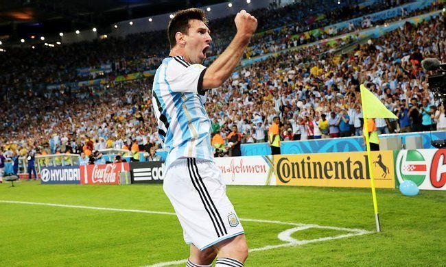 fotos partido argentina vs bosnia -