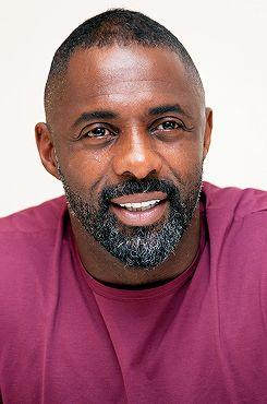 Idris Elba at the movie junket for No Good Deed in Los Angeles, CA