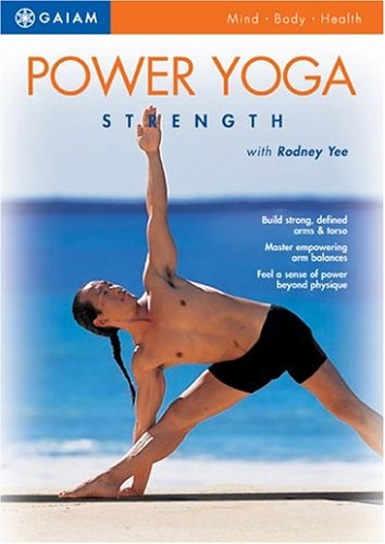 Power up your body and mind with Power Yoga: Strength, a fast-moving flow sequence that works arms, back and abs to build strength that¹s balanced throughout all the large and small muscles. Renowned instructor Rodney Yee guides you in a session that targets your entire upper body as you experience his distinctive, signature style of Power Yoga. Rodney shows you step-by-step how to confidently do challenging arm balance poses for core strength, more defined lean muscle and a