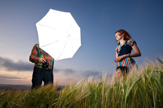 How to Use Old School Flashes for Outdoor Photography