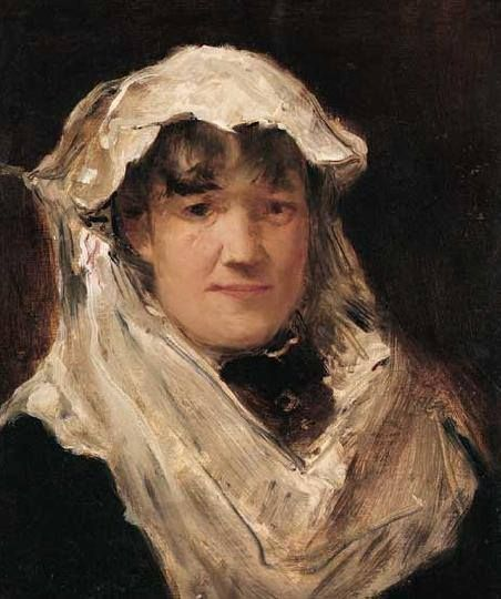 Munkácsy Mihály (1844-1900) - Madame Chaplin portréja