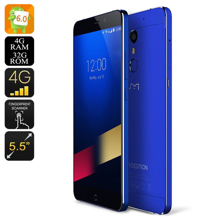 Wholesale 5.5 Inch Android Smartphone - 4G UMI Phone From China