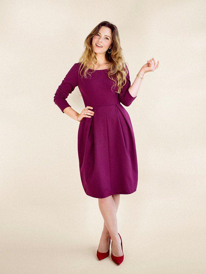 Elisalex Dress - PDF sewing pattern – By Hand London