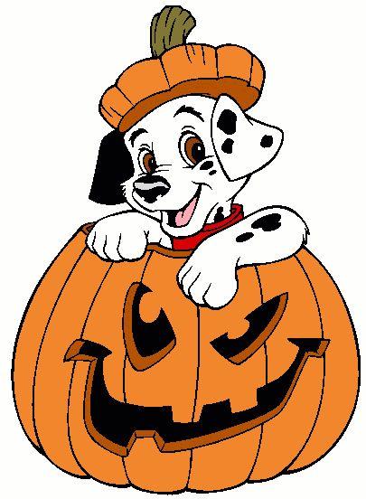disney halloween yard displays halloween dalmation in pumpkin lawn yard art decoration photo - Disney Halloween Photos