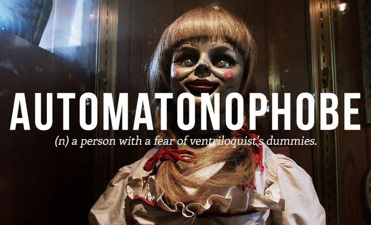 Automatonophobe Definition | #wordsdefinitions #phobias