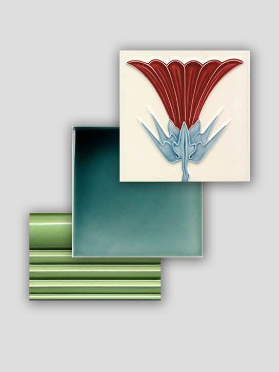 Die besten 25 golem fliesen ideen auf pinterest art deco fliesen jugendstilfliesen und - Art deco fliesen ...