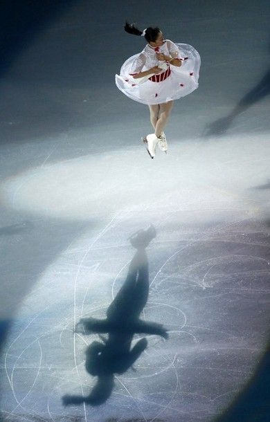 Mao Asada of Japan, the gold medalist of the women's free skating of the tournament, performs during the gala exhibition at the ISU Grand Prix of Figure Skating Cup of China in Shanghai, China on Sunday, Nov. 4, 2012.