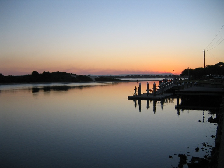 Sunset at #Forster #NSW ... #peaceful