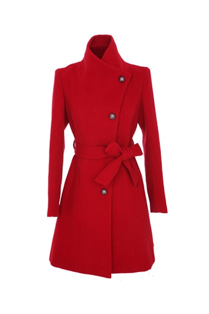 A Red Pea Coat is on my must have list.
