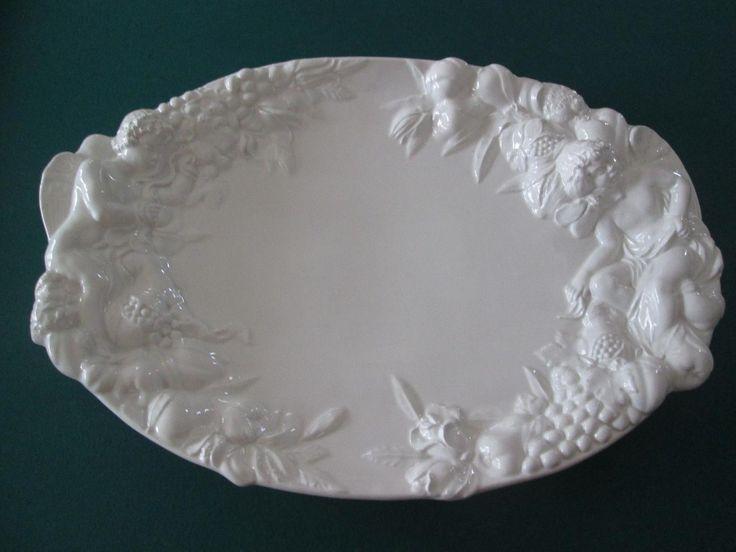 La Ceramica Platter with Cherubs - MADE IN ITALY | #1848096845