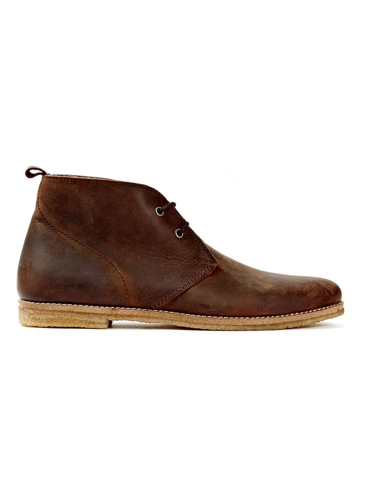 Tan Leather Chukka Boots