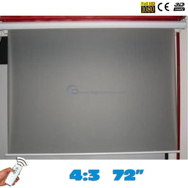 237.50$  Watch now - http://ali0yj.worldwells.pw/go.php?t=32776618574 - On sale! 72 inches 4:3 Rear Electric Projection Screen Motorized Projector Screens pantalla proyeccion for LED LCD HD Projectors