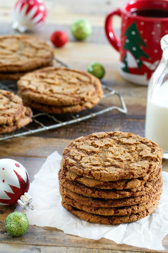 Crispy Ginger Cookies are a dream holiday cookie. Every bite of crunch, crispy, delectable ginger flavor will having you wanting more.