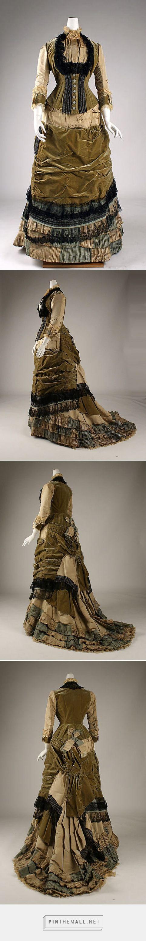 Dress ca. 1878 British   The Metropolitan Museum of Art