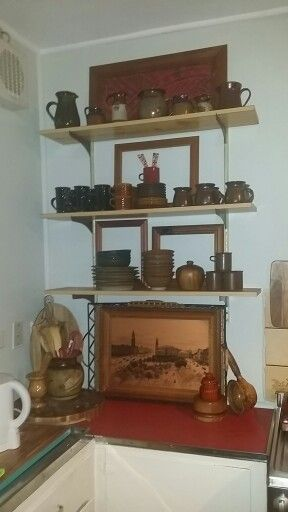 Beautifully displayed crockery