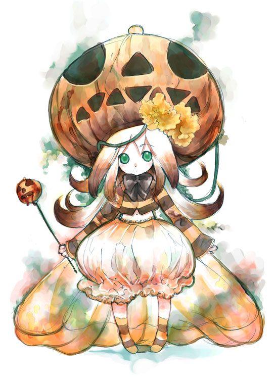 anime halloween girl - photo #34