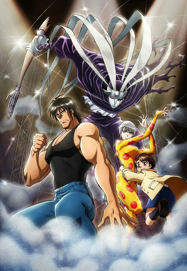 Pin by Yilong Wu on Karakuri Circus Anime, Le cirque