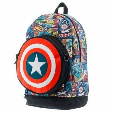 Captain America Pocket Eject Backpack