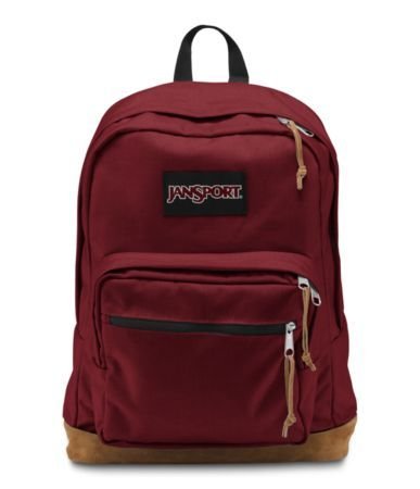 Viking Red JanSport Right Pack Backpack. When I buy another JanSport it will be in this color.