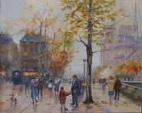 Bényi Éva: Ősz Párizsban